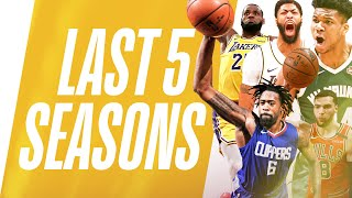 Best DUNKS | Last 5 Seasons
