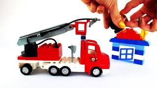 LEGO Мультик для малышей. Веселые уроки в ЛЕГО школе. Профессии