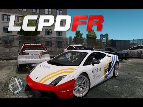 GTA IV : LCPDFR 1.0 - Belgian Police Patrol (Politie)