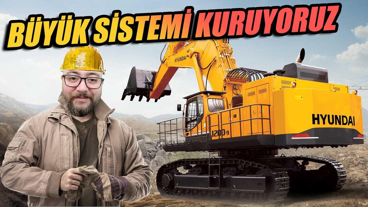EN BÜYÜK SİSTEMİ KURUYORUZ // İNSANI ÇİLEDEN ÇIKARTAN SİSTEM🤣   GOLD RUSH !!