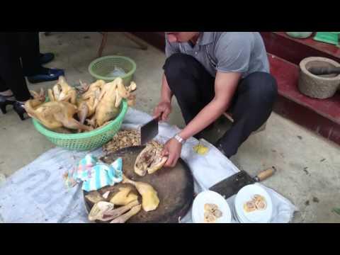 Cách chặt thịt gà đơn giản mà đẹp.