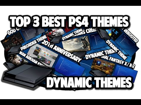 [PS4 THEMES] Top 3 Best PS4 Dynamic Themes Video In 60FPS