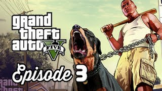 Grand Theft Auto 5 Walkthrough Part 3 - Chop the Doggy ( GTAV Gameplay Commentary )