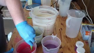 Holly Jolly Soap Making