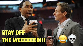 BEST STEPHEN A. SMITH AND SKIP BAYLESS MOMENTS!! (FUNNY)