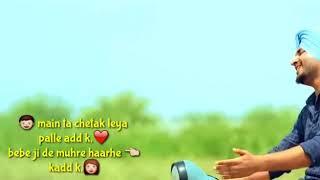 ||Best Punjabi Song||oho daddy ji de cash utte kre👉jaave  ßäpü zimidar kitho ❤️laike deve car🙎🙍