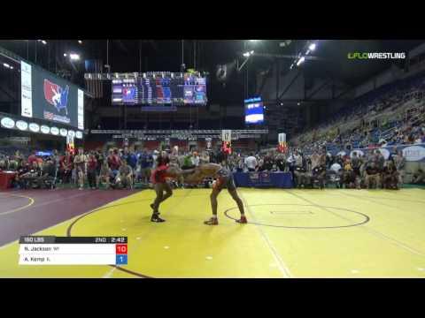 Junior FS 160 Cons 16-1 - Noah Jackson (WI) vs. Adam Kemp (IL)