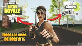 FORTNITE Mods For GTA San Andreas Android! 2018