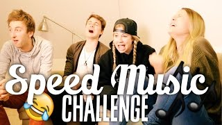 SPEED-MUSIC CHALLENGE - Freshtorge, LifeWithMelina, YTITTY | Dagi Bee