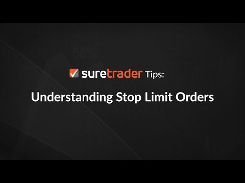 Trading Tips: Understanding Stop Limit, Market And Range Orders