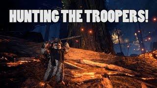 HUNTING THE TROOPERS AS EWOK'S! - SWBF2 Ewok hunt gameplay