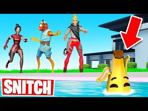 Team SNITCH Or DIE Hide & Seek (Fortnite Creative Gamemode)