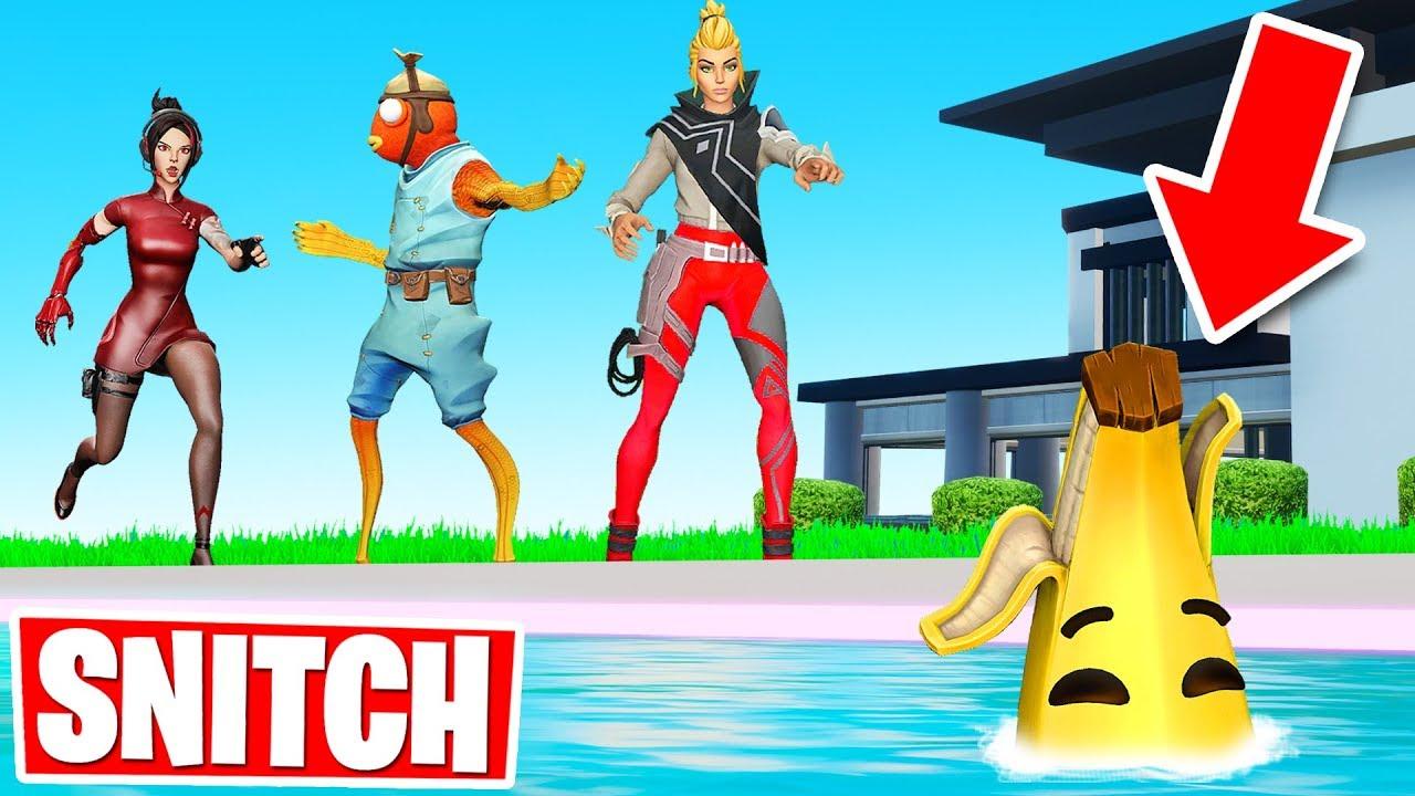 Team SNITCH or DIE Hide  Seek Fortnite Creative Gamemode