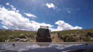 fj cruiser off road kingston peak colorado