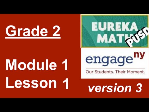 Eureka Math Grade 2 Module 1 Lesson 1 - YouTube
