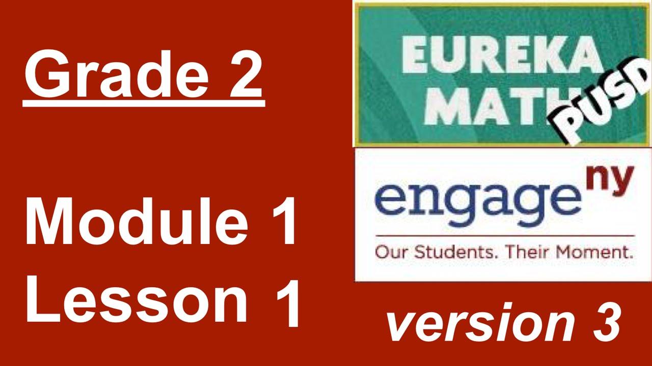 hight resolution of Eureka Math Grade 2 Module 1 Lesson 1 - YouTube