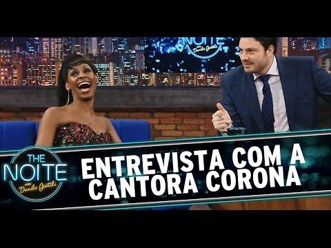 Entrevista com a cantora Corona