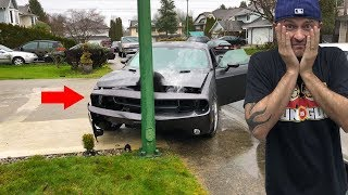 He CRASHED My New Car!
