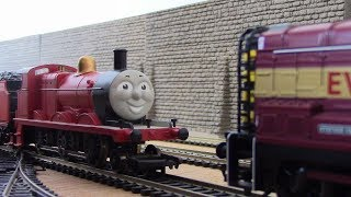 James Goes To Bridlington Goods Yard | Journey Beyond Sodor | H0/00 Remake