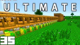 Minecraft Mods FTB Ultimate - AUTOMATIC BEE EXPERIENCE FARM !!! [E35] (HermitCraft Modded Server)
