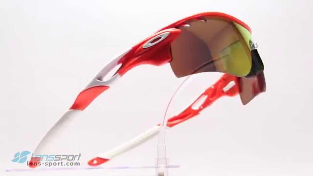 oakley radarlock polarized ot5o  Gafas deportivas Oakley Radarlock Path Polarized Orange / Fire Iridium  Polarized  lens-sportcom
