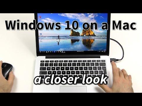 Windows 10 on a Mac - A closer look!