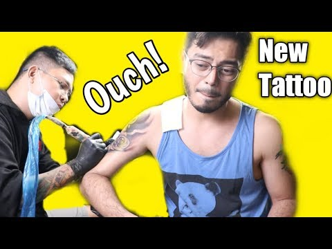 GETTING MY SECOND TATTOO | AFFORDABLE AND QUALITY TATTOO SHOP (MANILA, PHILIPPINES)
