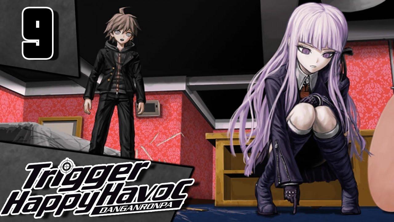 Let's Play Danganronpa: Trigger Happy Havoc [Blind] Part 9 - Crime Scene  [PC Gameplay/Walkthrough]