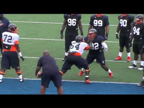 2015 Morgan State Football Training Camp Bloopers