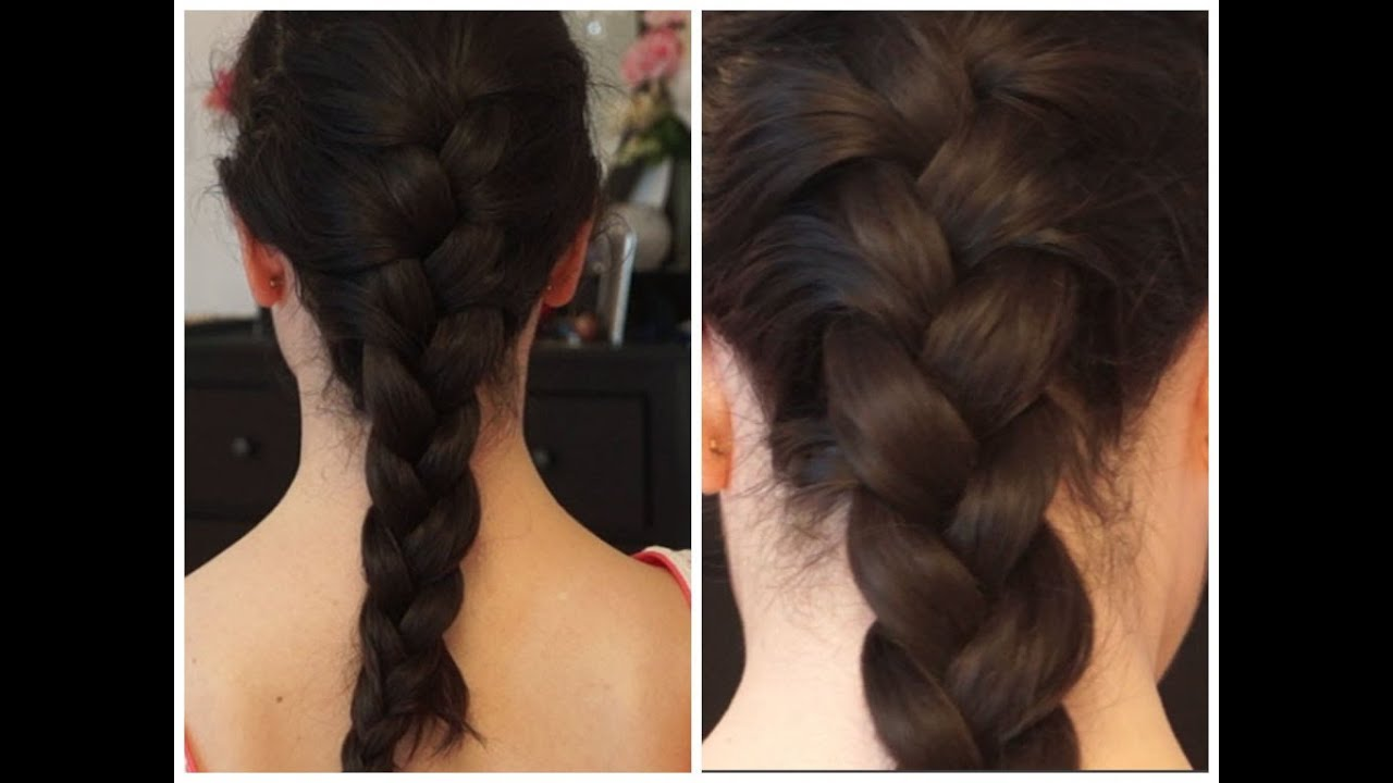 Comment faire une tresse fran aise youtube - Comment faire une tresse indienne ...
