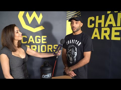 Backstage interview with Jai Herbert at CW112