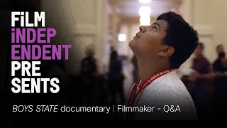 BOYS STATE - documentary | Amanda McBaine & Jesse Moss | Film Independent Presents