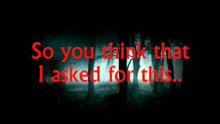 Marilyn Manson - Breaking the same old Ground (lyrics)
