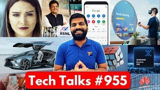 Tech Talks #955 - WiFi in Trains, Car+Drone, Exynos 990 Processor, vivo Diamond Camera, MiTV