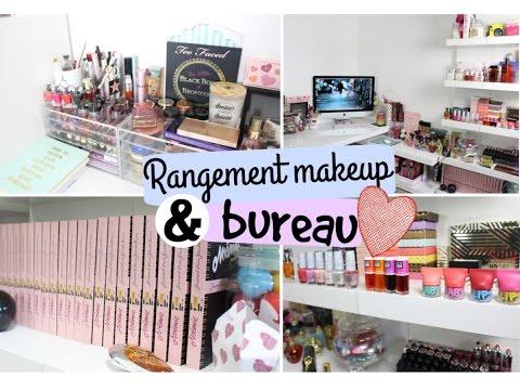 Rangement Maquillage & Bureau ♡