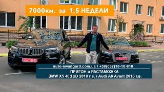BMW X5 и Audi A6 из Германии   Осмотр авто в Германии