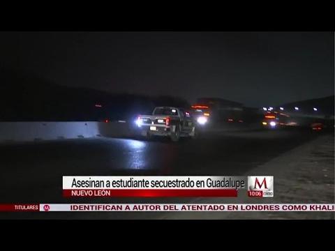 Asesinan a estudiante de 13 años secuestrado en Guadalupe, Nuevo León
