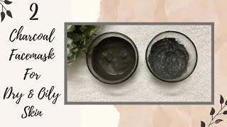 DIY Charcoal Face Mask Deep Cleansing Mask Get Rid of Oily Skin Blackheads Whiteheads