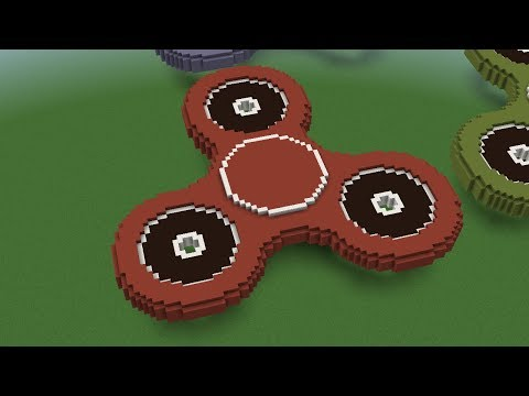 How To Make A Minecraft Fidget Spinner!