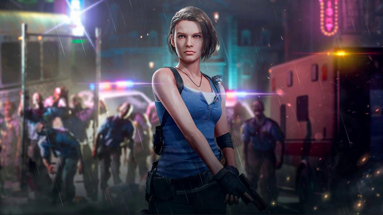 Jill Valentine Resident Evil 3 Wallpaper Engine Youtube
