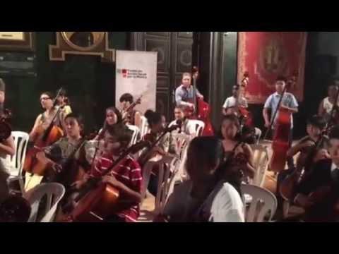 Vals de la lluvia - FASM Orchestra - Final Concert . Season 2016