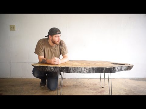 Modern Live Edge Coffee Table | Modern Builds | EP. 24