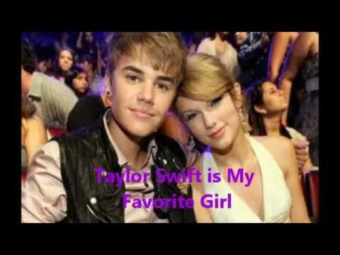 "Justin Bieber says, ""Taylor Swift Is My Favorite Girl"""