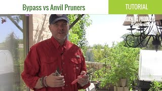 Bypass Pruners vs Anvil Pruners: What's the Difference? | Gardening Products Review