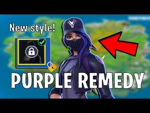 Fortnite HOW TO GET PURPLE REMEDY Style (Location & Unlock Guide) * Visit 3 Different Food Trucks *