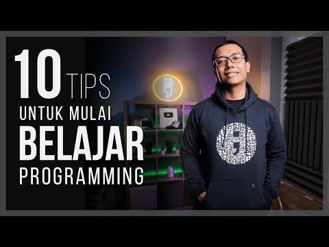10 TIPS UNTUK MULAI BELAJAR PROGRAMMING