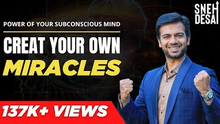 Motivational Video  in Hindi - Create your own miracles | Power of Subconscious Mind