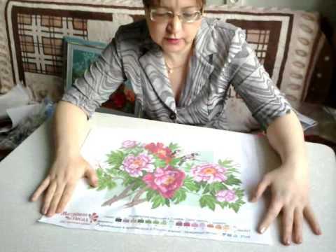 Вышивка крестиком по канве с нанесенным рисунком. Особенности работы. Матренин Посад