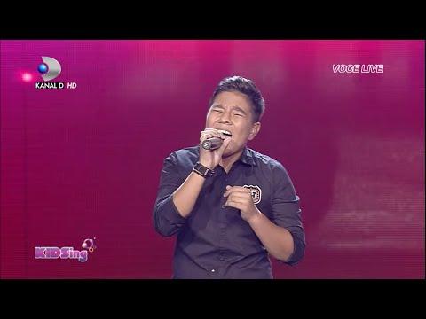 Raul Eregep canta When a man loves a woman - Semifinala 1 - KIDSing 2014