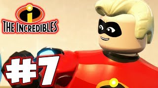 LEGO INCREDIBLES - Part 7 - Screenslaver! (HD Gameplay Walkthrough)